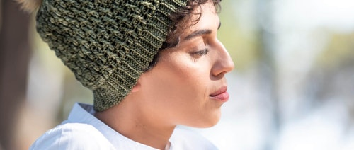 malabrigo yarn close up